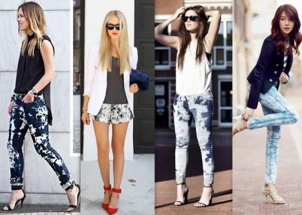 Jeans-manchado